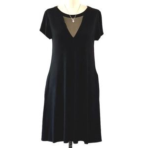 Nine Britton LBD with Pockets and Mesh Insert